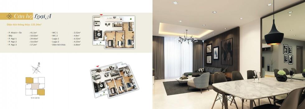 Thiết kế căn hộ A Bohemia Residence